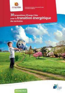 30 propositions d'Energy Cities pour la transition énergétique des territoires