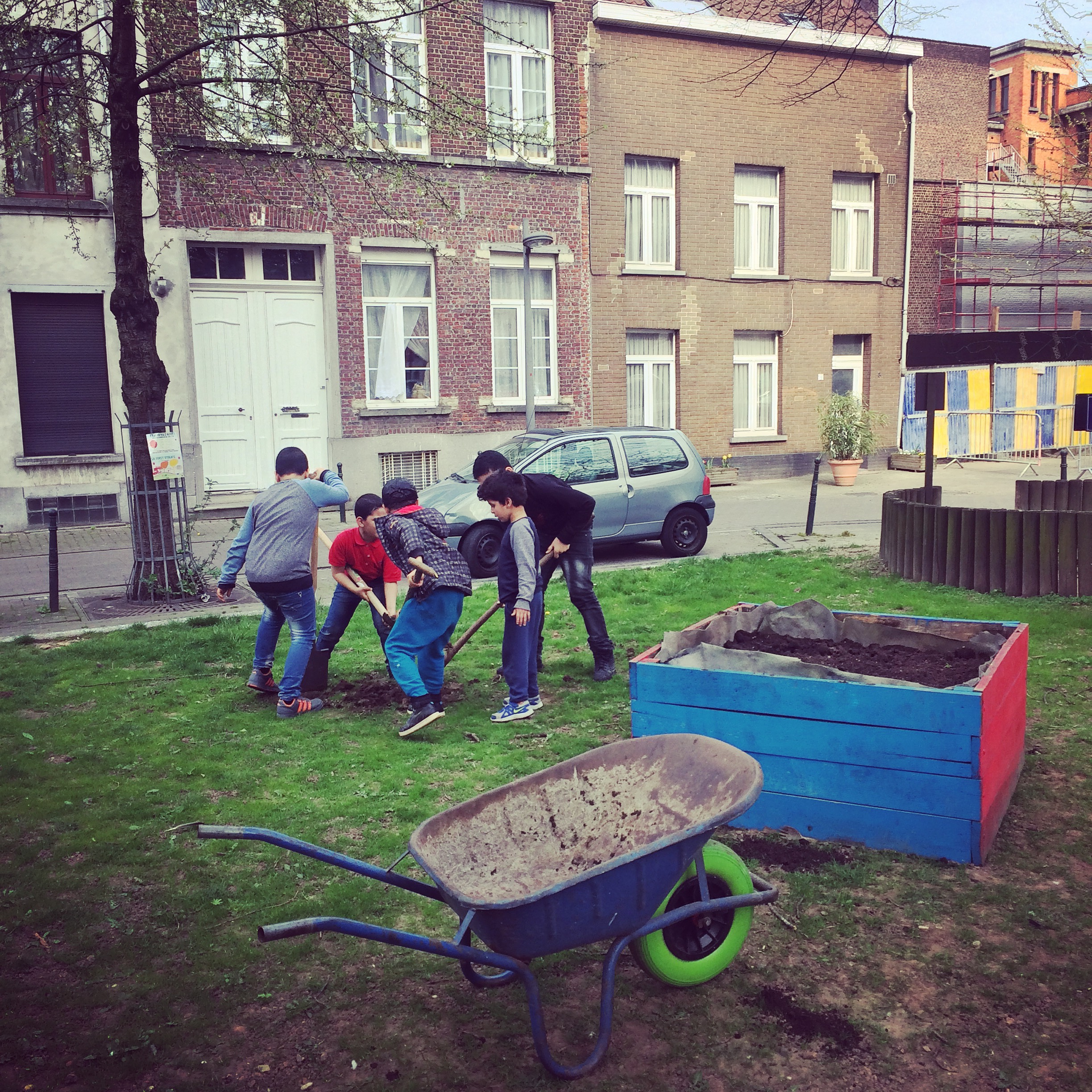 From citizen engagement to citizen ownership – Living Street in Brussels