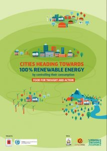 Cities heading towards 100% renewable energy by controlling their consumption