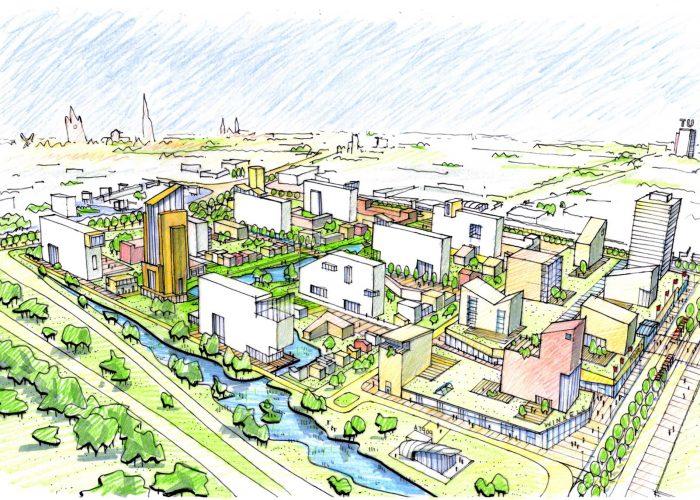 Low energy housing breathes new life into Poptahof