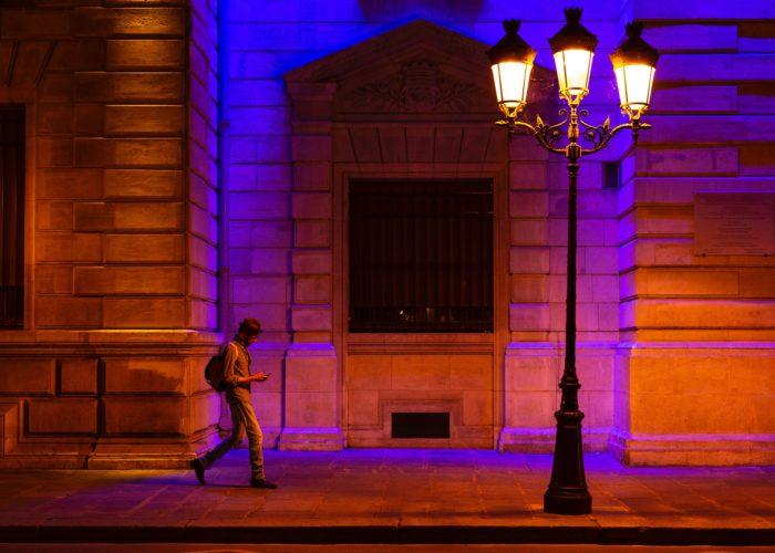 Paris public lighting