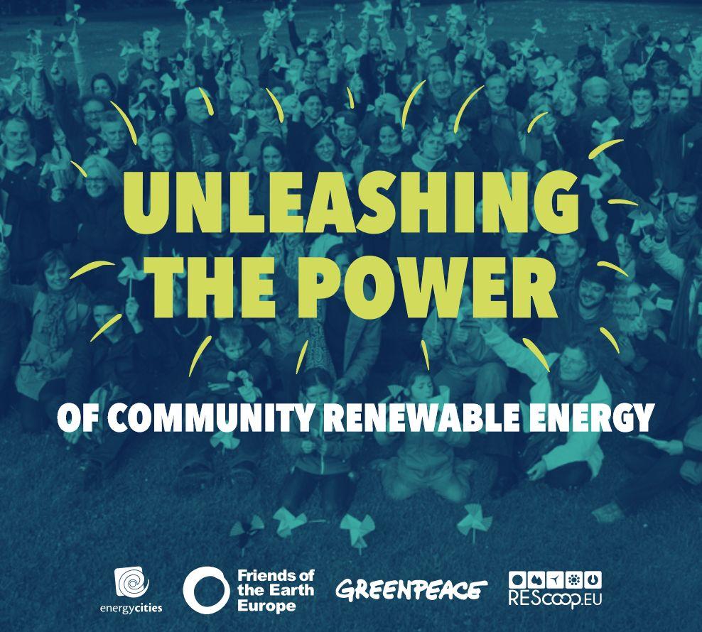 Unleashing the power of community renewable energy