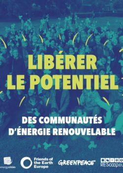 Libérer le potentiel des communautés d'énergie renouvelable