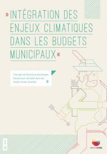 Intégration des enjeux climatiques dans les budgets municipaux