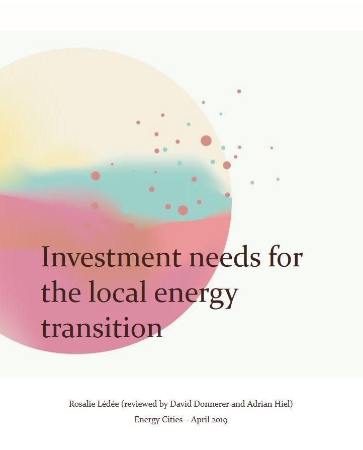 Les besoins d'investissement pour une transition énergétique locale