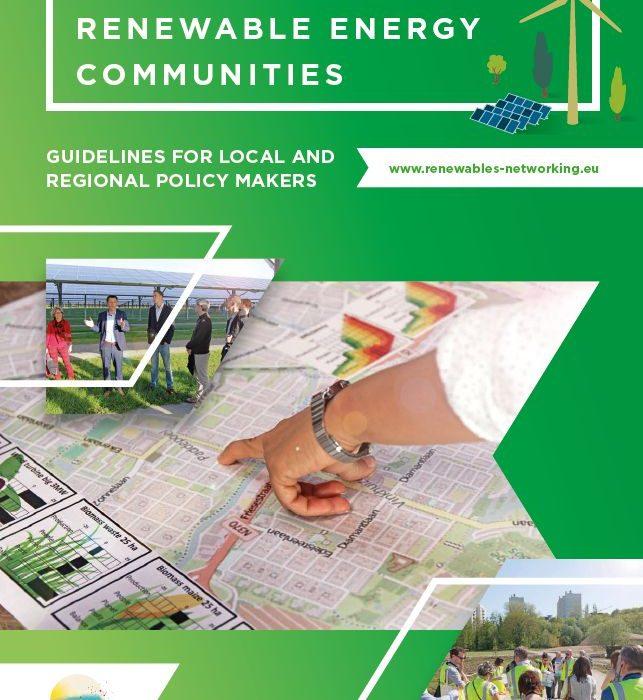 How cities can back renewable energy communities
