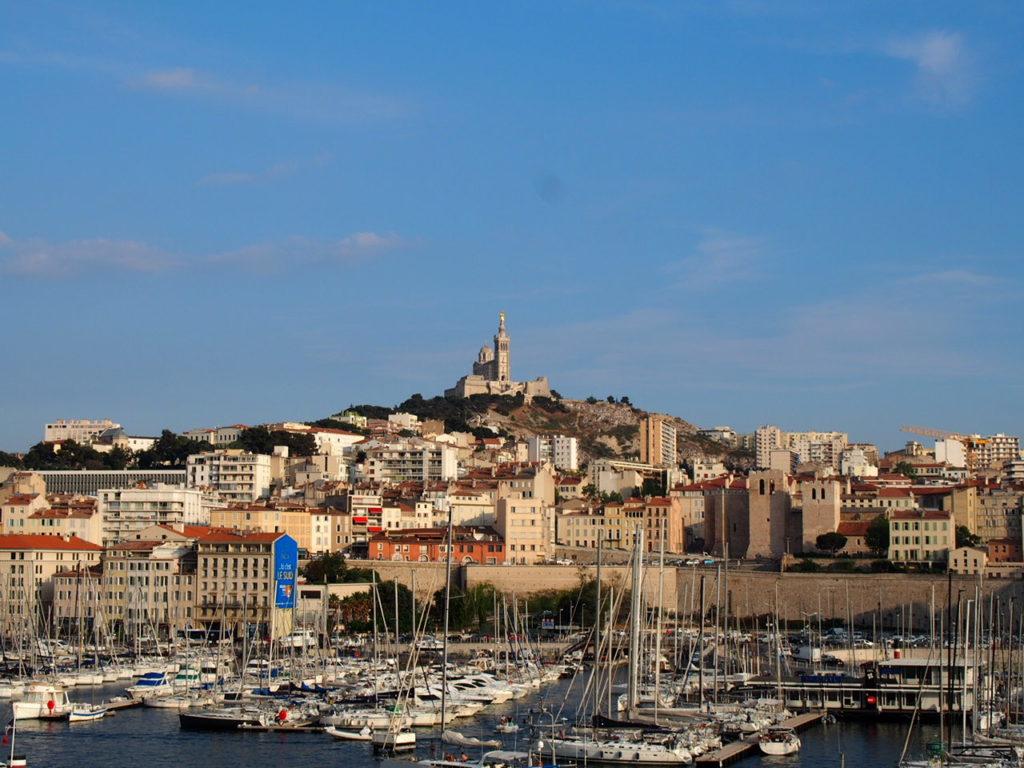 Marseille, harbour