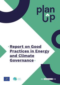 LIFE PlanUp report on good practices in energy and climate governance