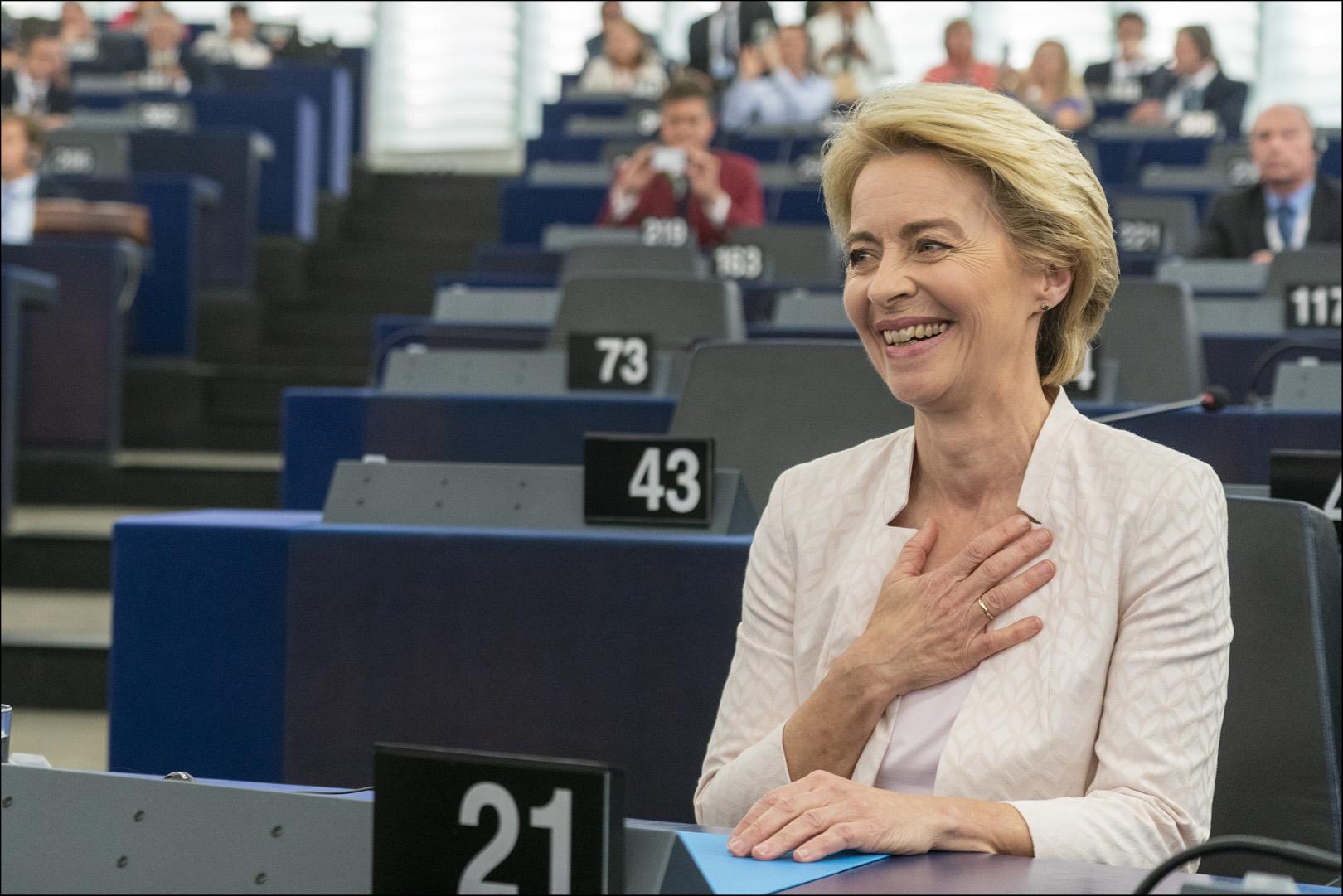 Letter to EU Commission President-elect Ursula von der Leyen