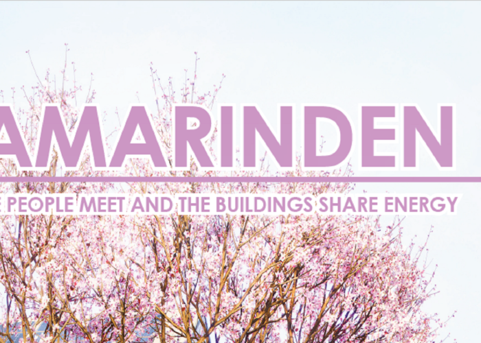 Tamarinden – Where people meet and the buildings share energy