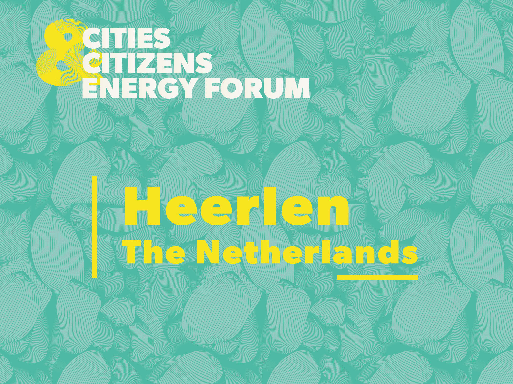 Cities and Citizens Energy Forum – Save the date