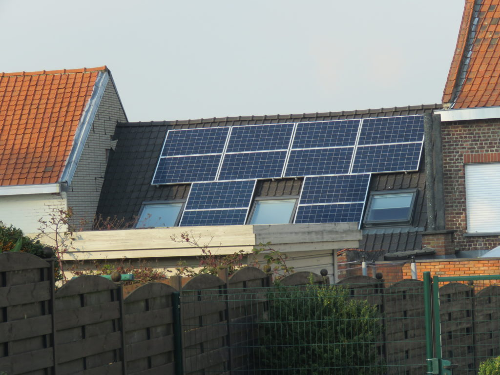 Mouscron toit solaire