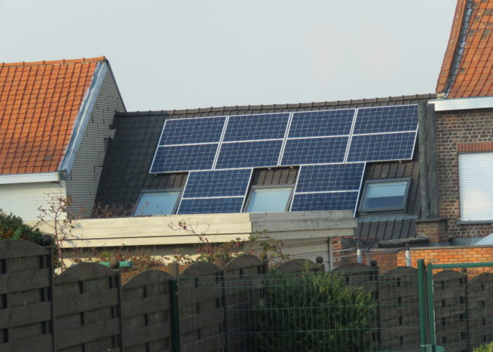 Mouscron, a city going solar