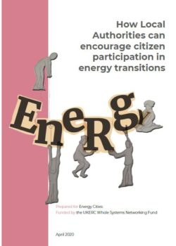 How Local Authorities can encourage citizen participation in energy transitions