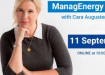 Virtual ManagEnergy Talk with Cara Augustenborg