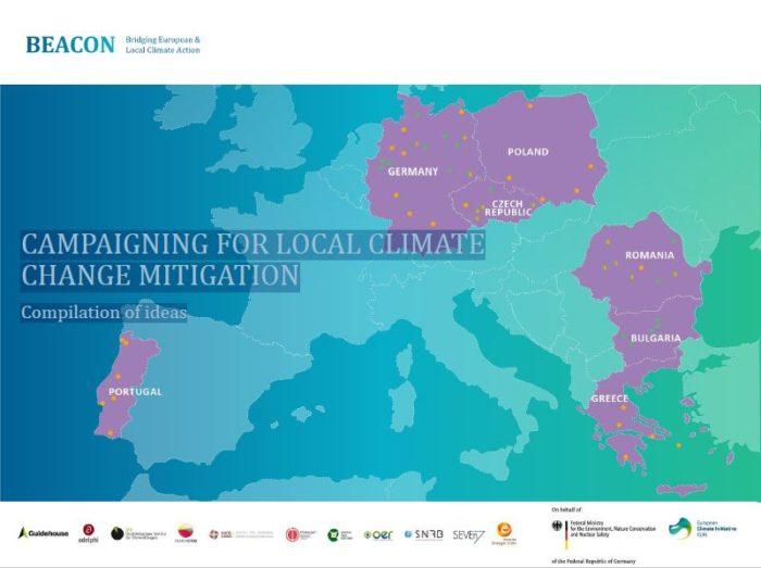 Faire campagne localement pour la lutte contre le changement climatique