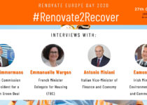 Renovate Europe Day 2020: #Renovate2Recover
