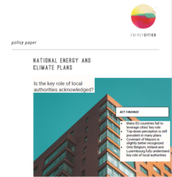 The Final National Energy and Climate Plans