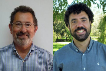 Juan Eguidazu et Javier Zardoya