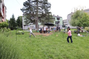 Krizevci's residents give their neighbourhood a makeover