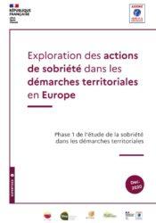 Exploration des actions de sobriété dans les démarches territoriales en Europe