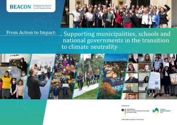 From Action to Impact : Supporting municipalities, schools and national governments in the transition to climate neutrality